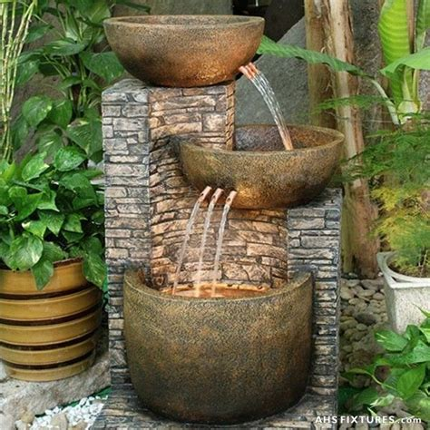 best 25 outdoor water fountains ideas on