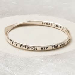 true friends message bangle by bloom boutique