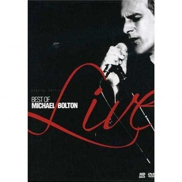 michael bolton the best of best of michael bolton live 豆瓣