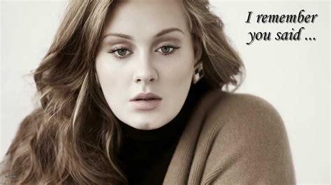 j who you are testo adele someone like you with lyrics avec paroles