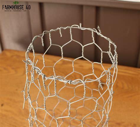 chicken wire planter gift idea farmhouse 40