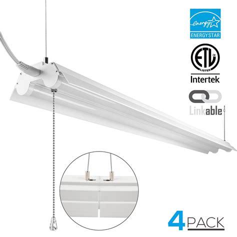 4 foot led shop light amazon best 4 feet led shop lights ledwatcher
