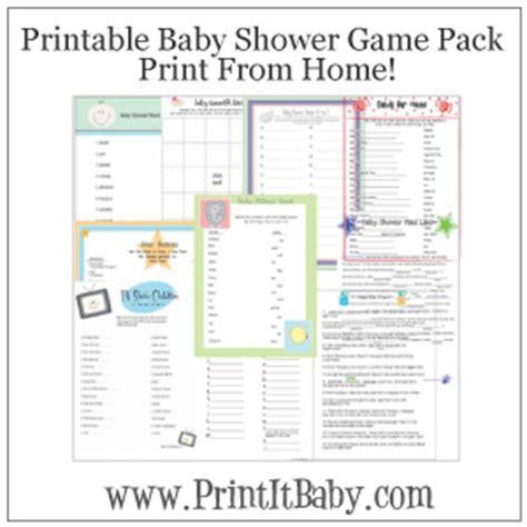 Unique Baby Shower Games   Best Baby Decoration