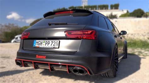 Audi Rs6 Pp Performance by Audi Rs6 Avant C7 Pp Performance Start Up Revs