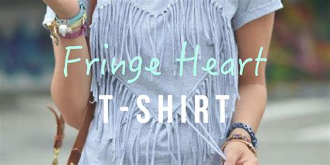 Diy Fringe T Shirt Ambrosia Real Simple Diy Your Own Fringe Luulla S