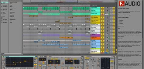 f9 audio releases free firebird template for ableton live