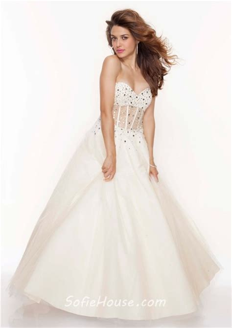 house see through a line princess sweetheart see through black tulle prom