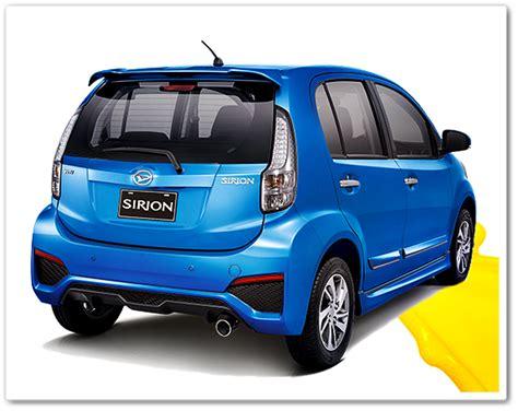 Spion Mobil Daihatsu Sirion harga daihatsu sirion facelift terbaru 2016 dibanderol