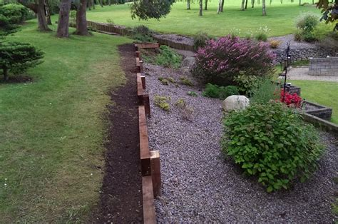Railway Sleepers Dublin by Composite Decking Timber Products Aspects Of Landscaping