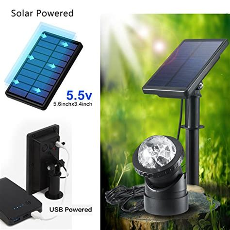 underwater solar lights for fountains creative design multicolored submersible led lights solar