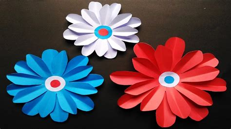 Easy Paper Flowers To Make - how to make easy paper flowers origami 3d gifts