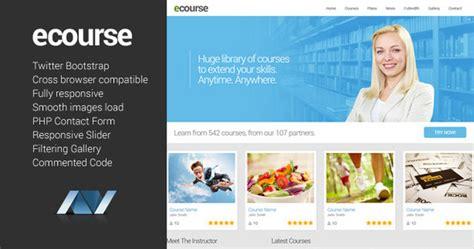 responsive site templates 25 best education responsive html templates designmaz