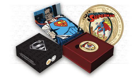 Koin Coin Set Canada Superman Anniversary canada celebrates superman s 75th anniversary with collector coins