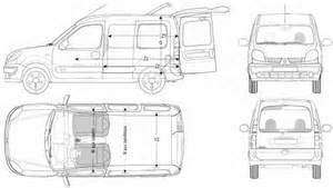 Renault Kangoo Dimensions The Blueprints Blueprints Gt Cars Gt Renault Gt Renault