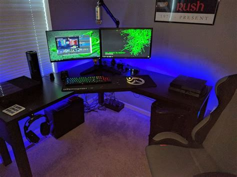 gaming setup ps4 pc ps4 or xbox one take your pick new video game