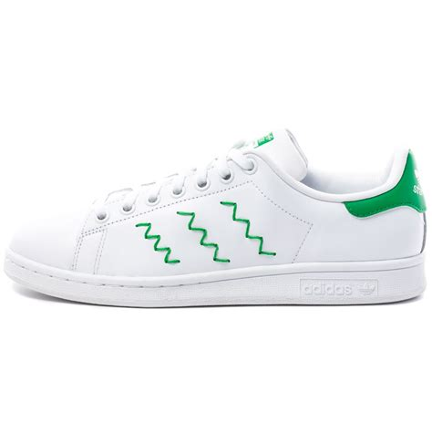 adidas stan smith women adidas stan smith womens trainers in white green