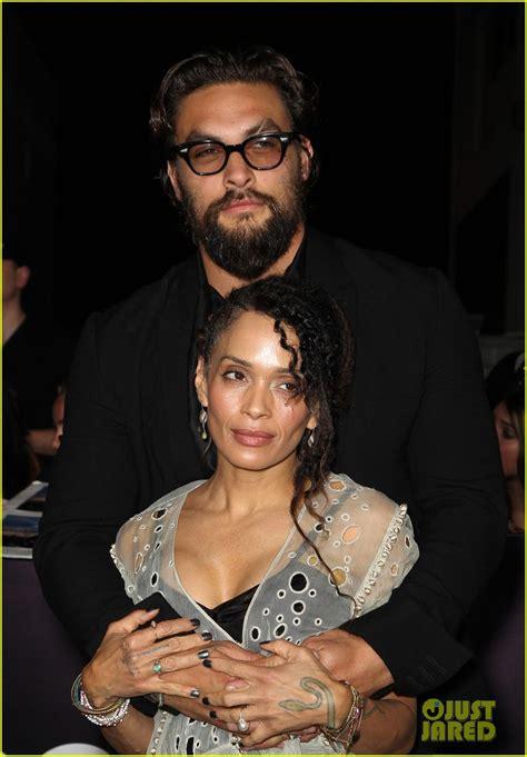 lisa bonet and husband jason momoa at premiere of lisa bonet jason momoa at divergent premiere