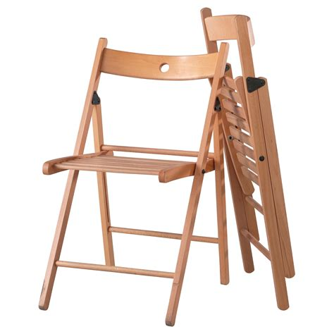 foldable chairs terje folding chair beech ikea