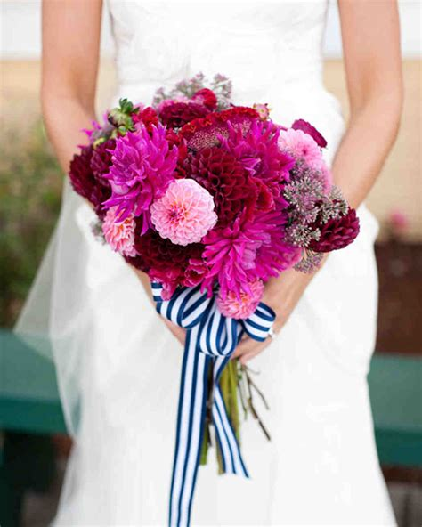 beach her colors were pink lots of pink with her love of the beach beach wedding bouquets martha stewart weddings