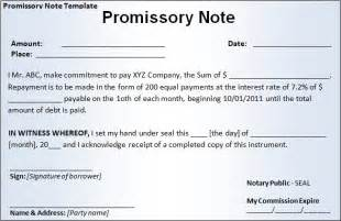 promisorry note template promissory note template free word templatesfree word