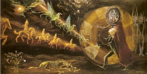 imagenes surrealistas de leonora carrington el conejo blanco ha regresado a la luna muere leonora