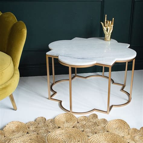 brass coffee table india taj marble and brass coffee table audenza