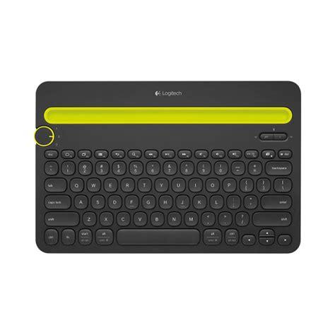 Keyboard Multi Device Bluetooth Logitech K480 Black logitech k480 bluetooth keyboard black vatan bilgisayar
