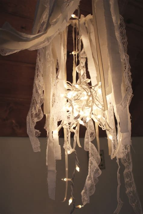 Diy Whimsical Chandelier Boat People Vintage Diy Style Fabric Chandelier Diy