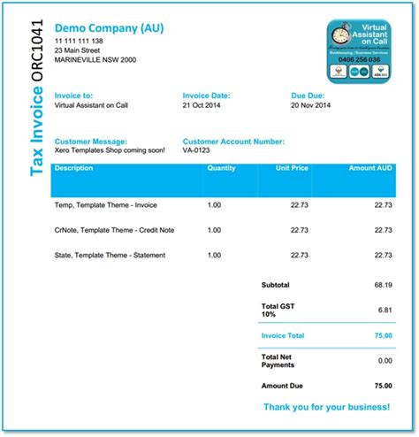 xero invoice template fields xero template fields contact account number bookkeeper