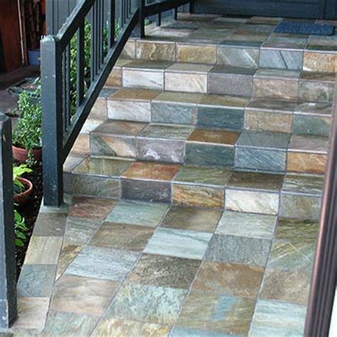 floors exterior blue ridge tile stone
