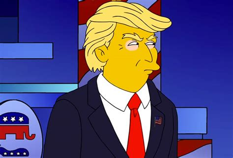 donald trump simpsons the simpsons writer who predicted donald trump as