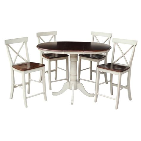 temporary dining table extension international concepts raymond 5 36 in