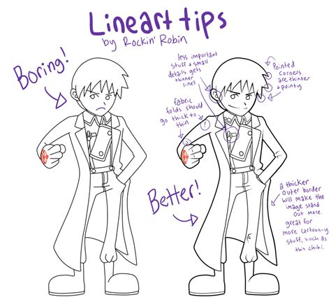 artists drawing techniques discover robin s lineart tips by rockinrobin on