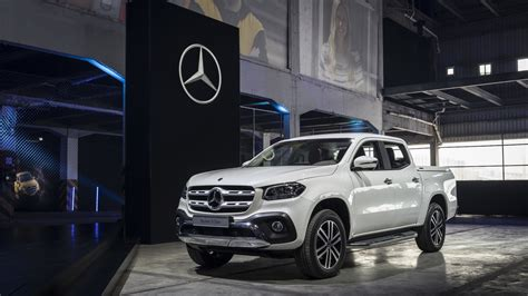 2018 mercedes x class debuts with 190hp road chops