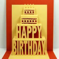 capadia designs happy birthday pop up