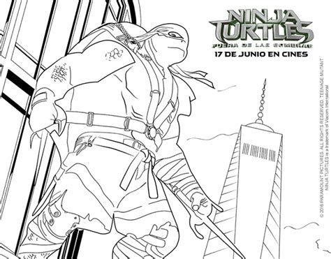 turtles coloring pages raphael