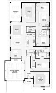 house plan 4 bedroom with study house of samples