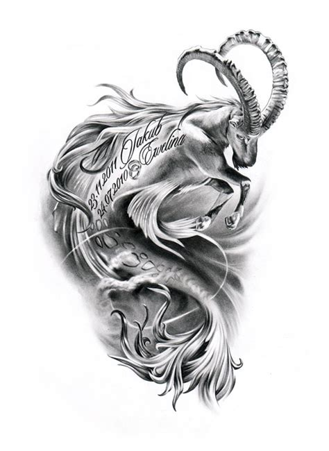 50 best capricorn tattoo designs with meanings for men amp women