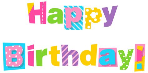 happy birthday clipart happy birthday clipart transparent clipartxtras