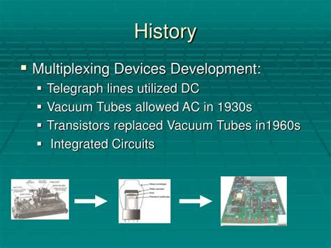 integrated circuits rapidly replaced transistors ppt optical multiplexing and demultiplexing powerpoint presentation id 6738759