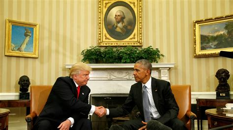 oval office trump obama trump have excellent oval office meeting the