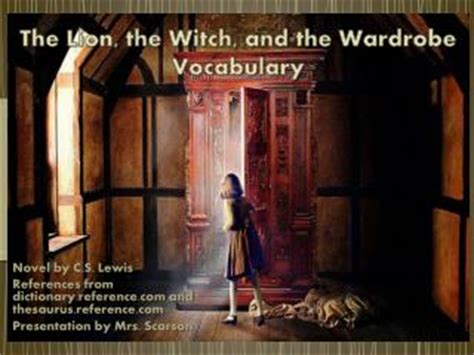 The The Witch And The Wardrobe Chapter by Ppt The Chronicles Of Narnia The The Witch And