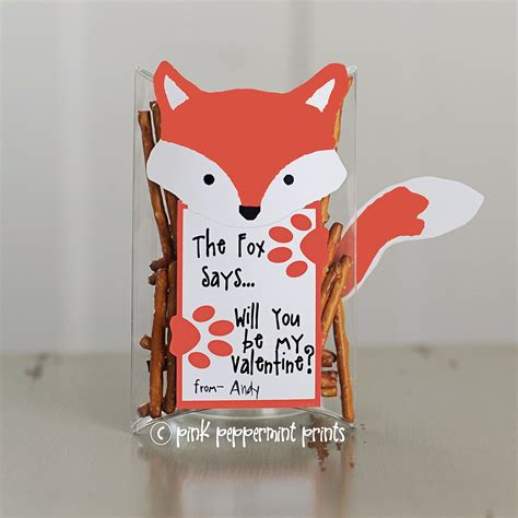 what to say on valentines day quot what does the fox say quot 59 diy s day
