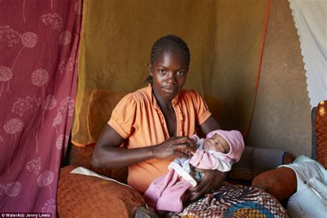 giving birth in bathroom malawian mothers with their newborns just 24 hours after