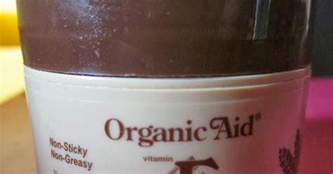 Pelembab Organic Aid dyana hassan product review organic aid vitamin e