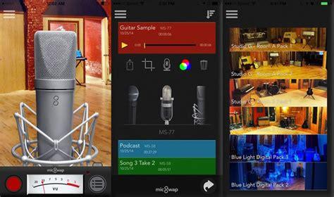 voice mobile app voice filtering mobile apps micswap app