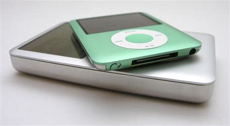 Ipod Classic Multifunction Dock Speaker Color Model Cdl 669 apple ipod nano quot fatty quot the gadgeteer