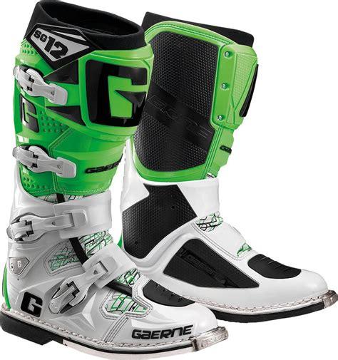 white motocross boots 629 95 gaerne mens sg 12 sg12 motocross boots 260187