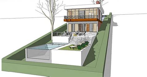 steep slope house plans a home built on a slope interior design inspiration
