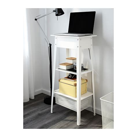 Ikea Ps 2014 Standing Laptop Station White Ikea Laptop Desks Ikea
